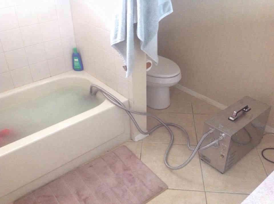 Portable Nanobubble Hydrotherapy - Our Bathroom
