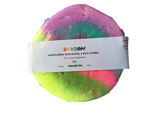 Rainbow Bubble Bar