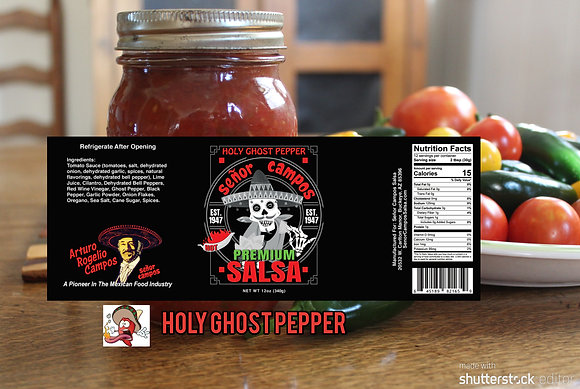 Holy Ghost Pepper HOT! 12 oz.