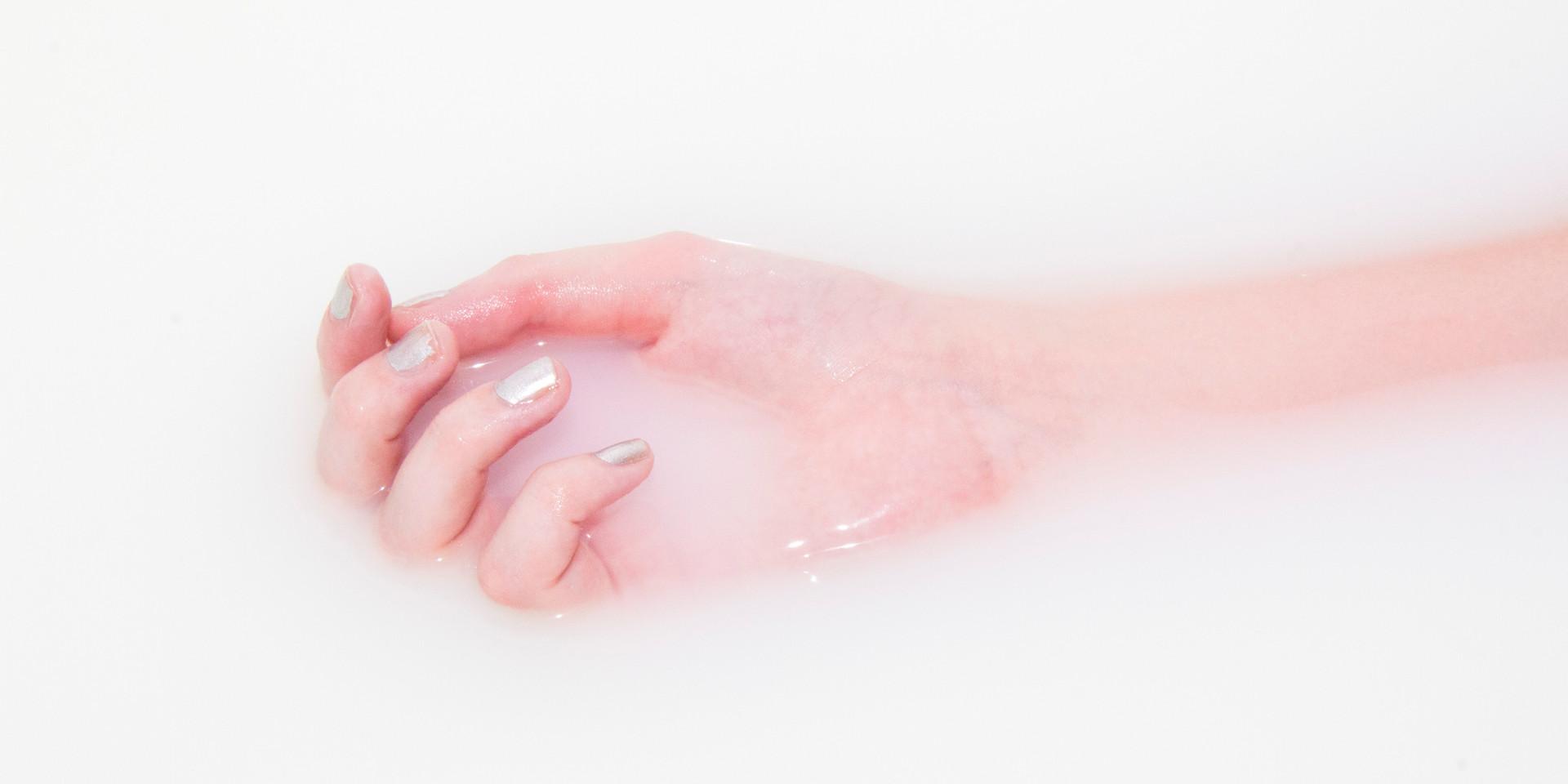 White Water in Bath - Hand