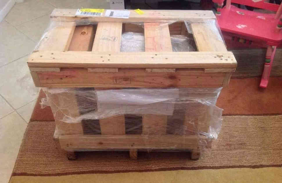Nanobubble Hydrotherapy - Shipping Crate