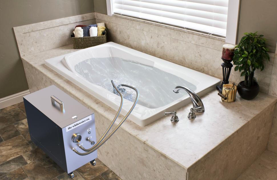 Nanobubble Hydrotherapy -  Bathroom Setting