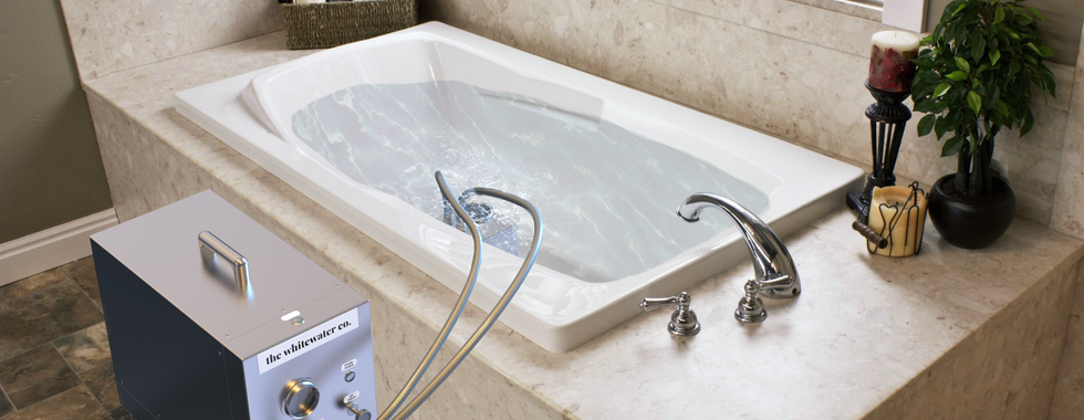 Portable Nanobubble Hydrotherapy in Bathroom