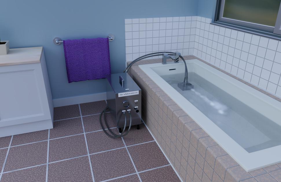 Portable Nanobubbler Hydrotherapy - Bathroom