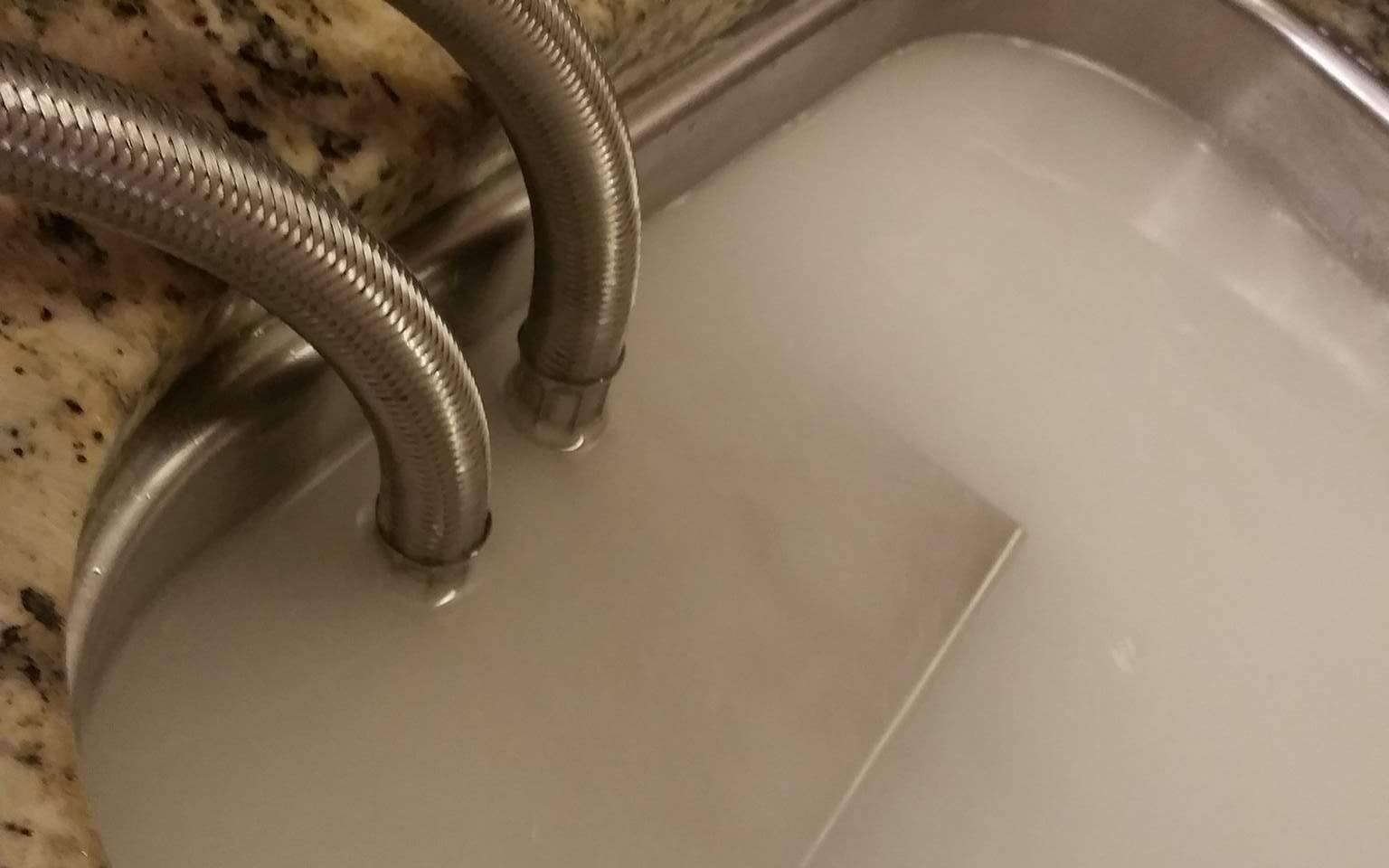 Portable Nanobubbler in Sink