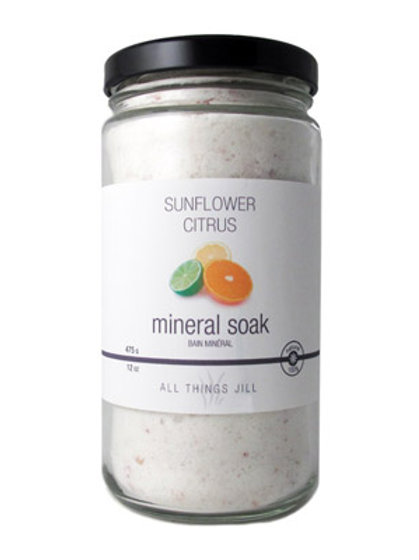 Sunflower Citrus Mineral Soak