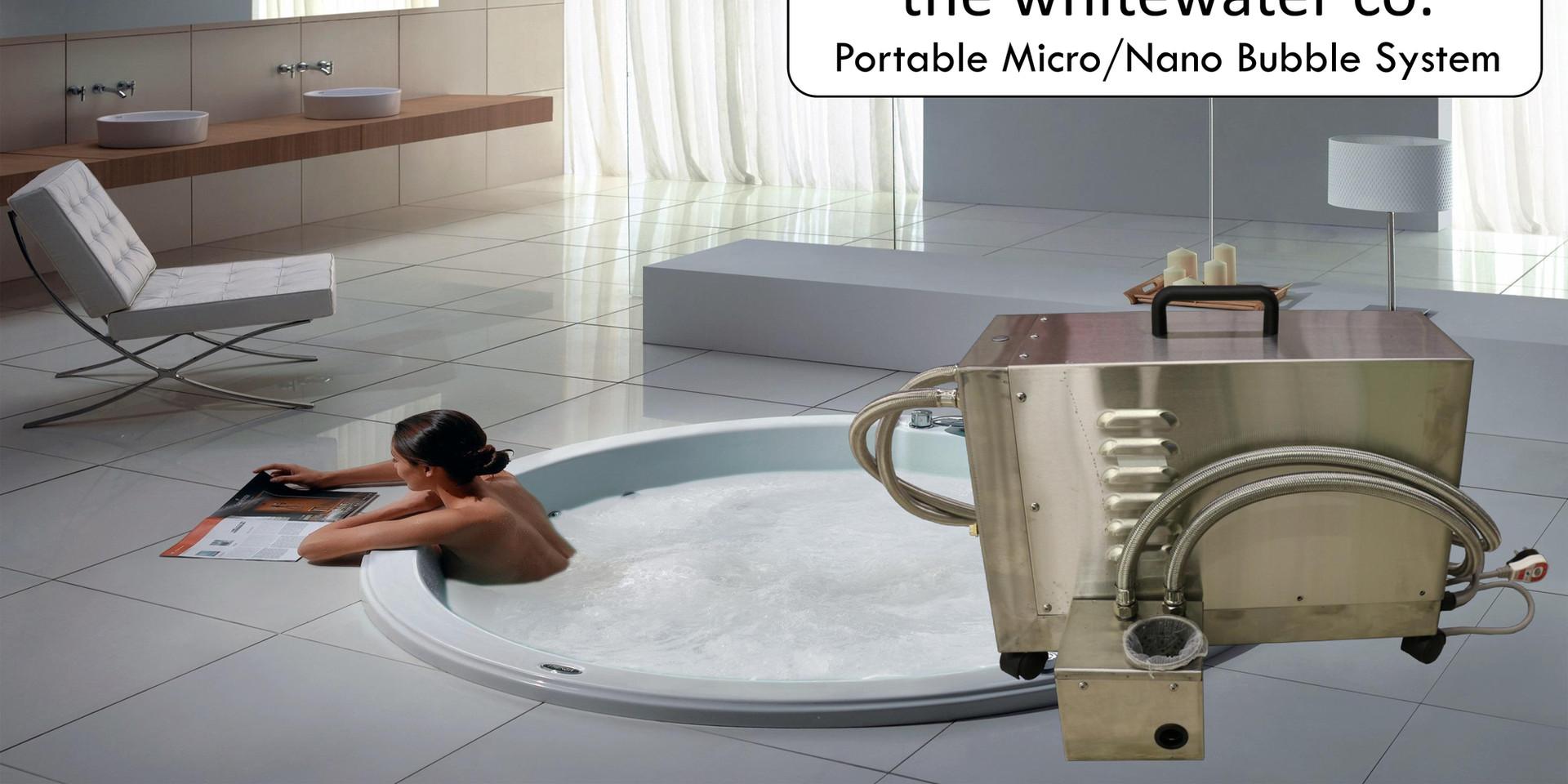 Portable Nano Micro Bubble Introduction1