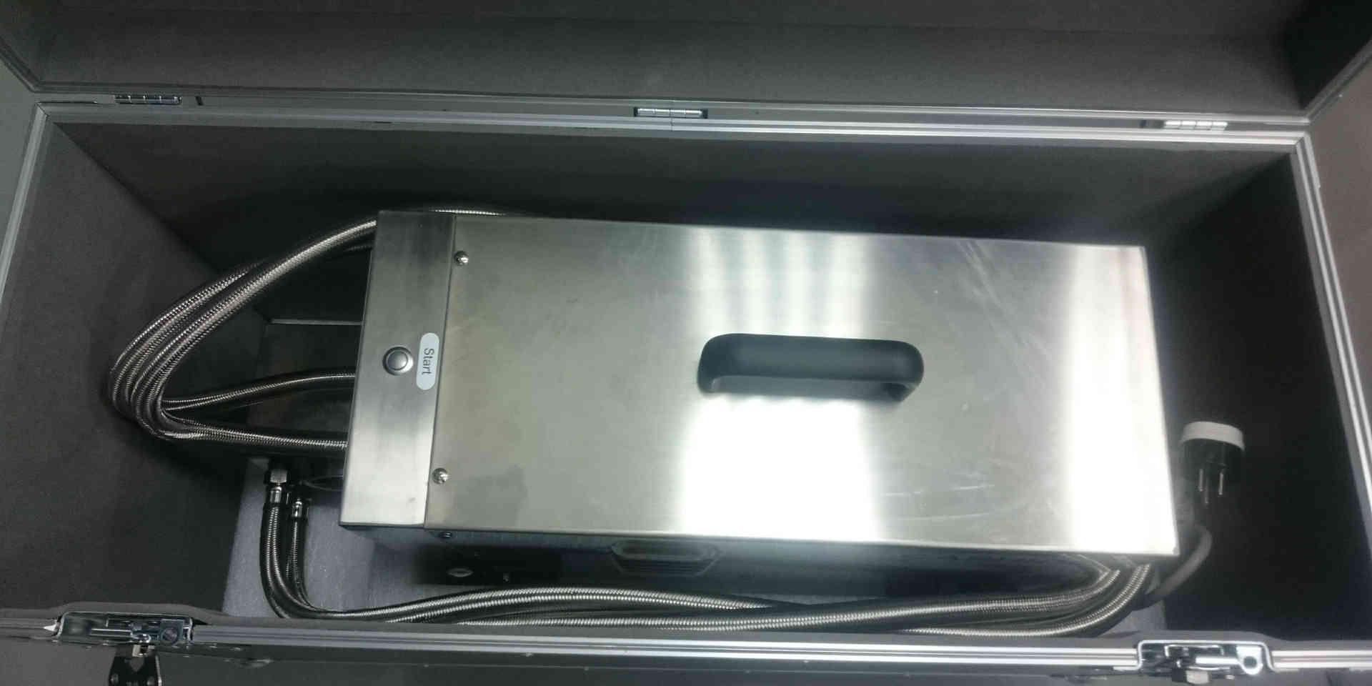 Nanobubble Hydrotherapy - Flight Case