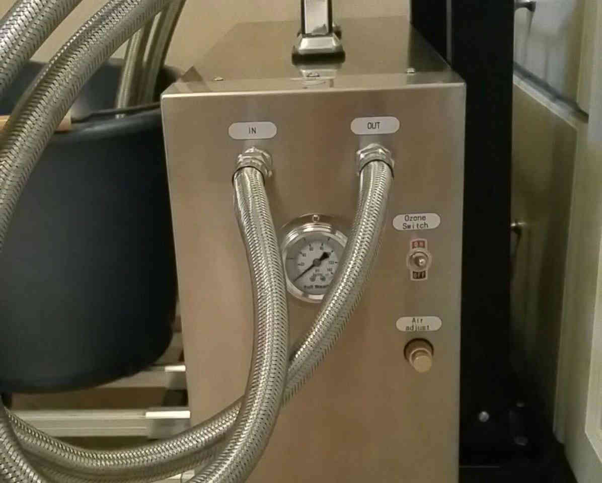 Portable Nanobubble Hydrotherapy - Front View 2