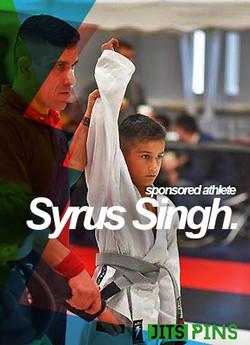 Syrus Singh JitsPins
