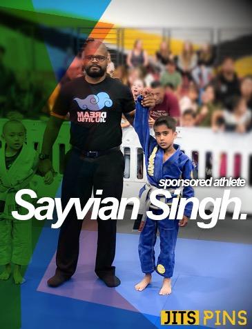 Sayvian Singh JitsPins