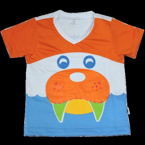 Camisa C/Manga Leão Marinho