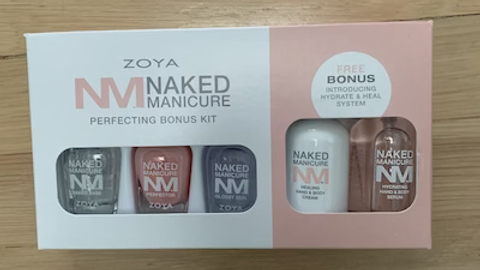Naked Manicure Hydrate, Perfect, & Heal Kit