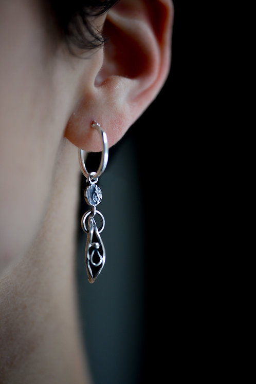 VULVA Long Earrings