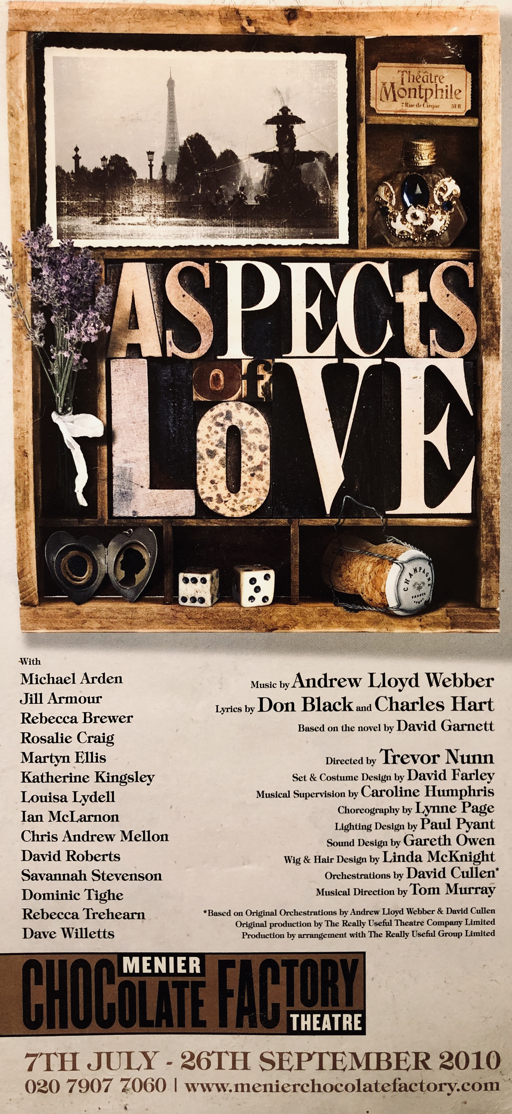 """Aspects of Love"" 2010"
