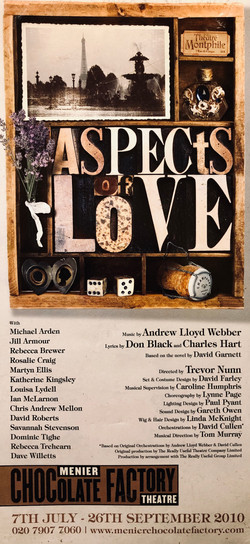 """""""Aspects of Love"""" 2010"""