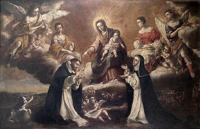 Virgen del Rosario Santo Domingo y Santa