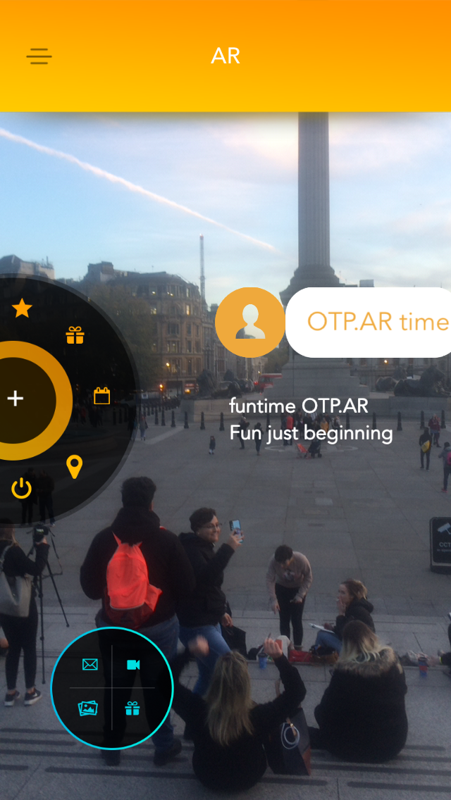 OTP.AR World App.  Real-Time Communi