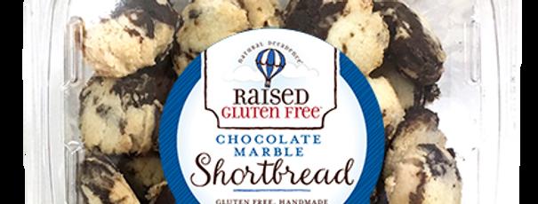 Chocolate Marble Shortbread