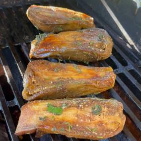 Vegan Eggplant Steak