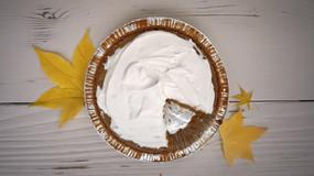 Gluten Free Pumpkin Pie + Vegan Whipped Cream