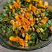Squash & Kale Salad with Pesto Dressing (Vegan & Gluten-Free)