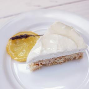 (Vegan + Gluten Free) Lemon Cheesecake