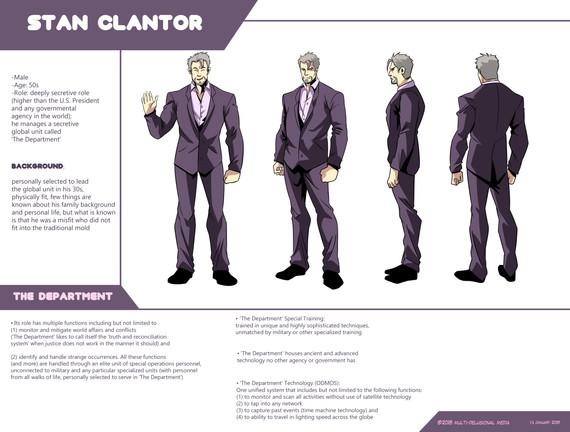 Character Sheet: Stan Clantor