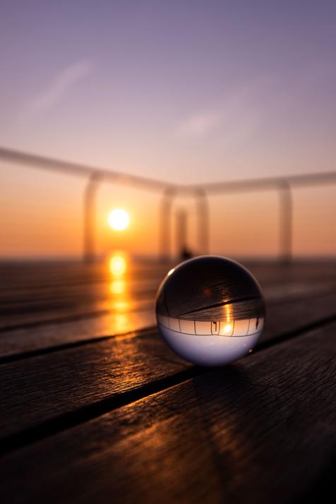 Pont de Petroli - Sunrise