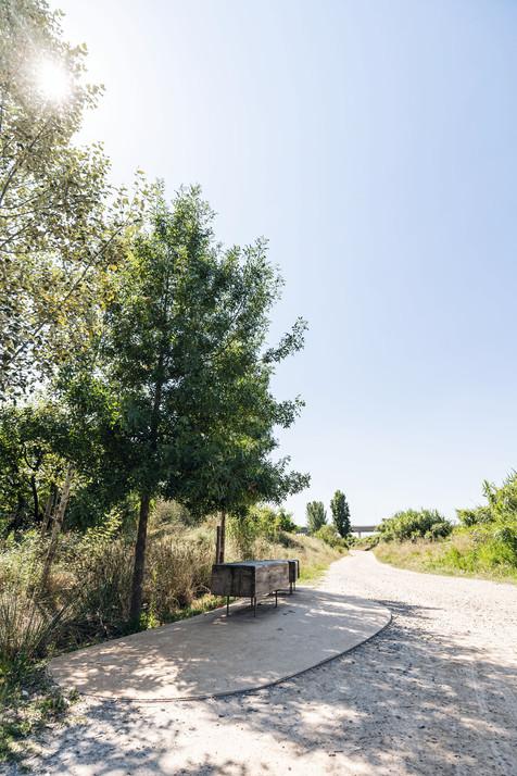 The river Llobregat
