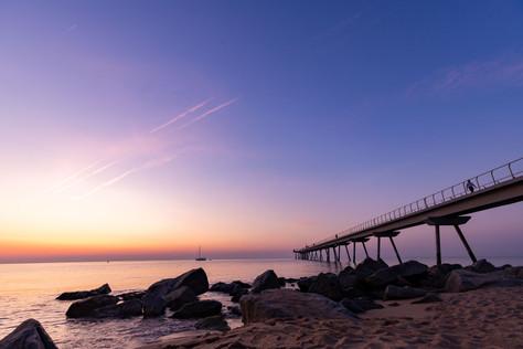 Sunrise - Pont de Petroli