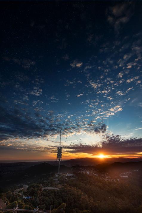 Sunset_Collserola Tower