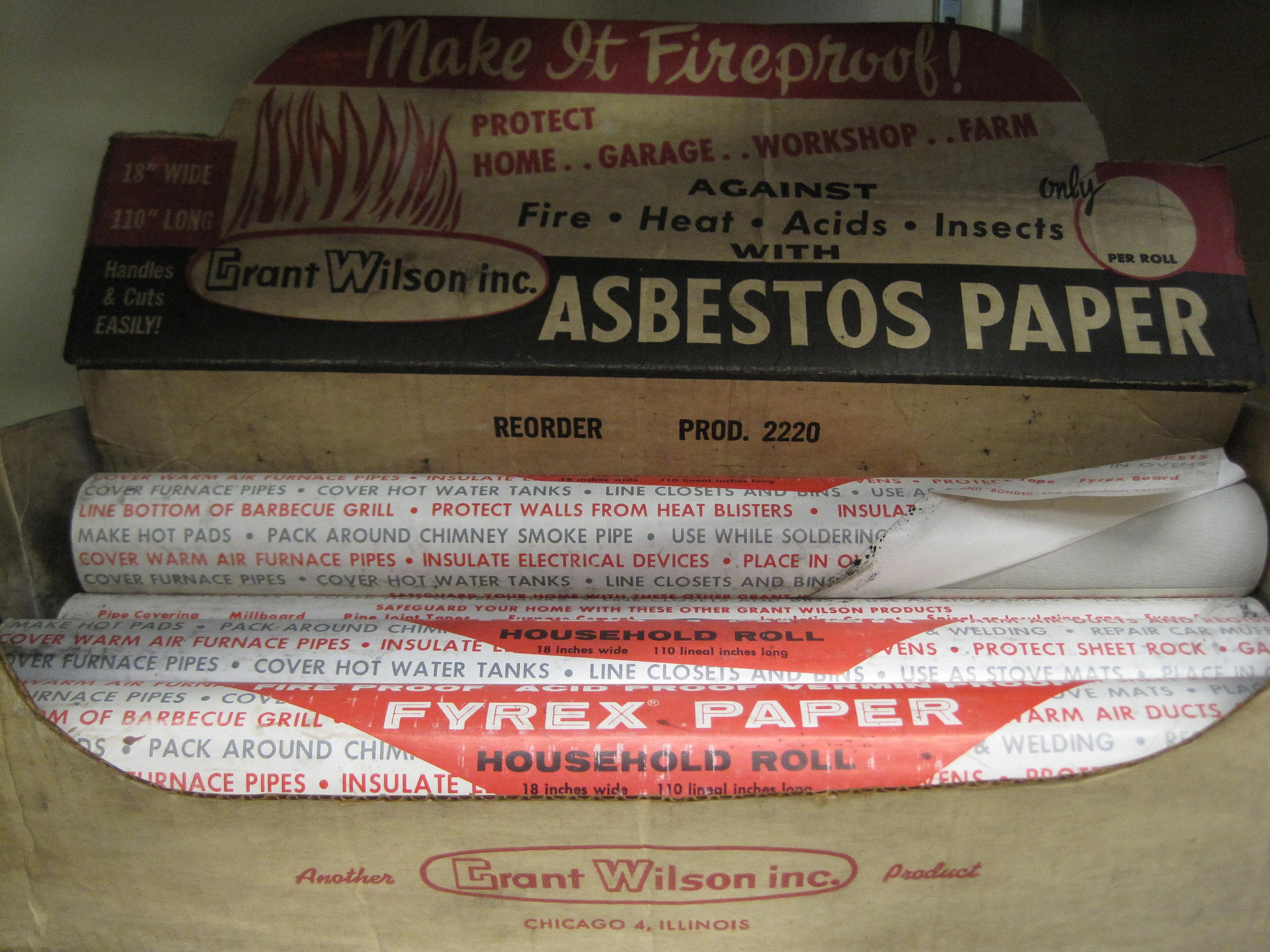 Asbestos paper, Custom paper Help