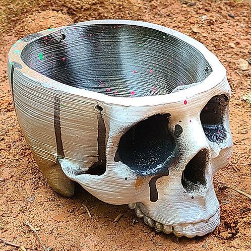 Skull Planter -3