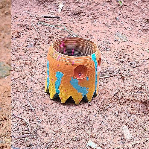 Pacman Ghost Mini Planter - 2
