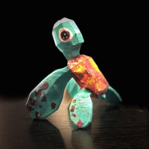 Small Turtle by Kristen Mode