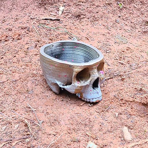 Skull Planter Mini - 3