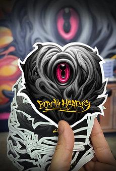 Black Heart Sticker