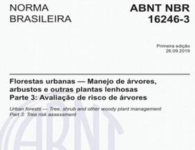 Nova ABNT 16.246 - 3 de Avaliação de Risco de Árvores