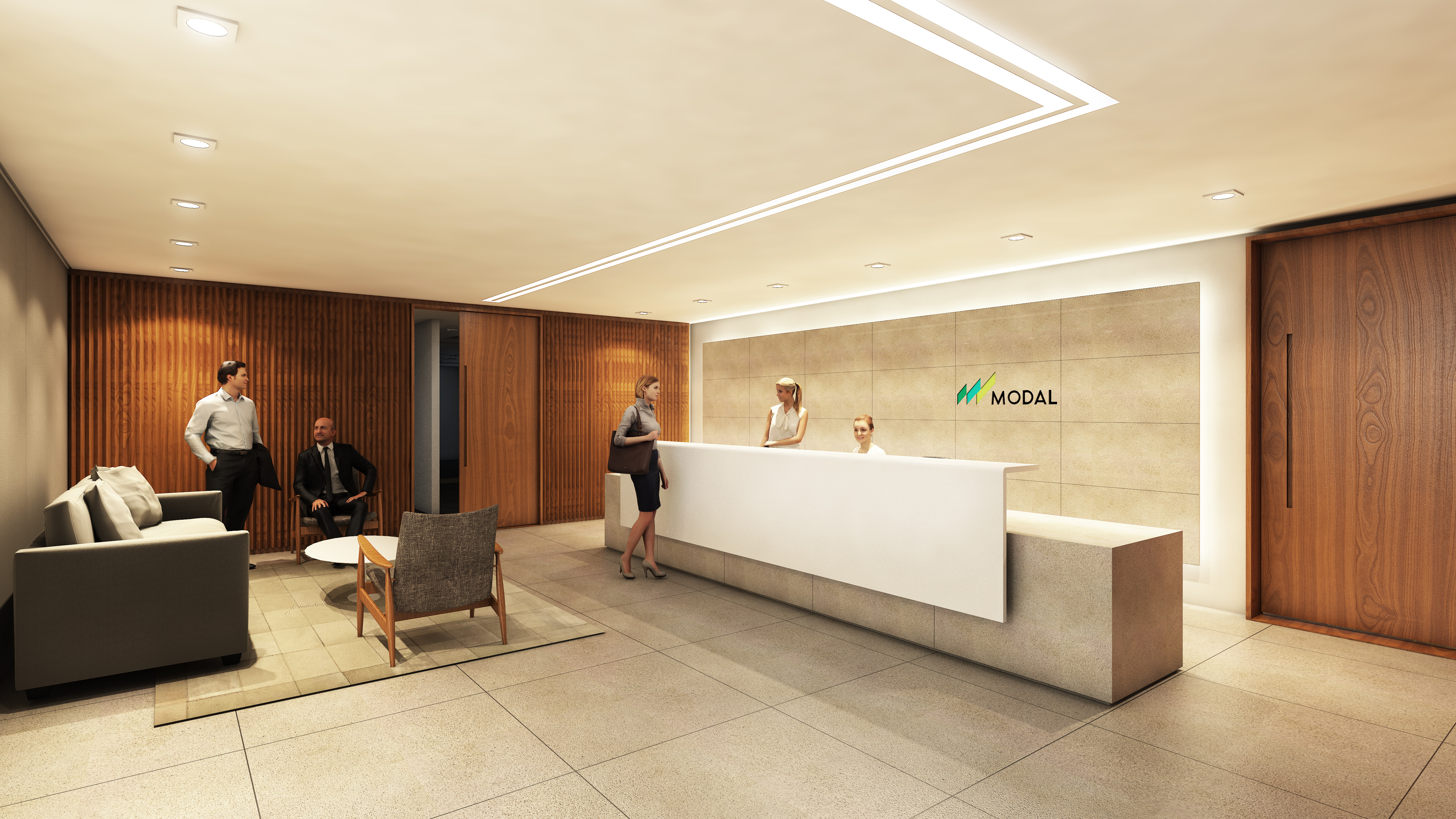 Banco Modal_Recepção