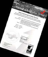 ISO 27001 Information Security Best Practice Certificate
