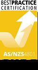 Best Practice AS/NZS 4801 OHS Logo