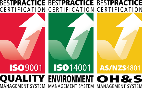 IMS Stickers - ISO 9001, ISO 14001, AS/NZS 4801- Pack of 10