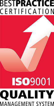ISO 9001 Sticker - Pack of 10