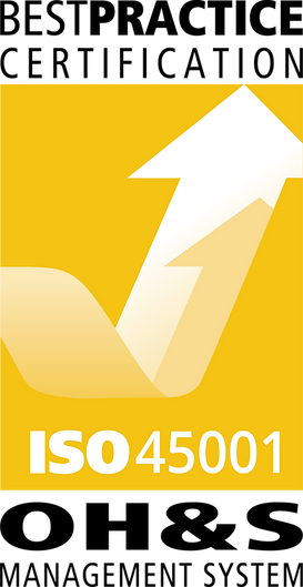 Best Practice ISO 45001 Logo