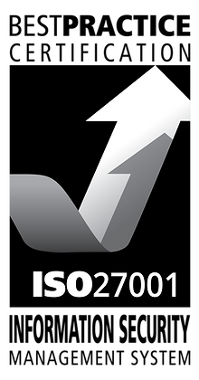 ISO 27001 Sticker - Pack of 10