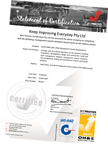 AS/NZS 4801 Safety Certificate Best Practice