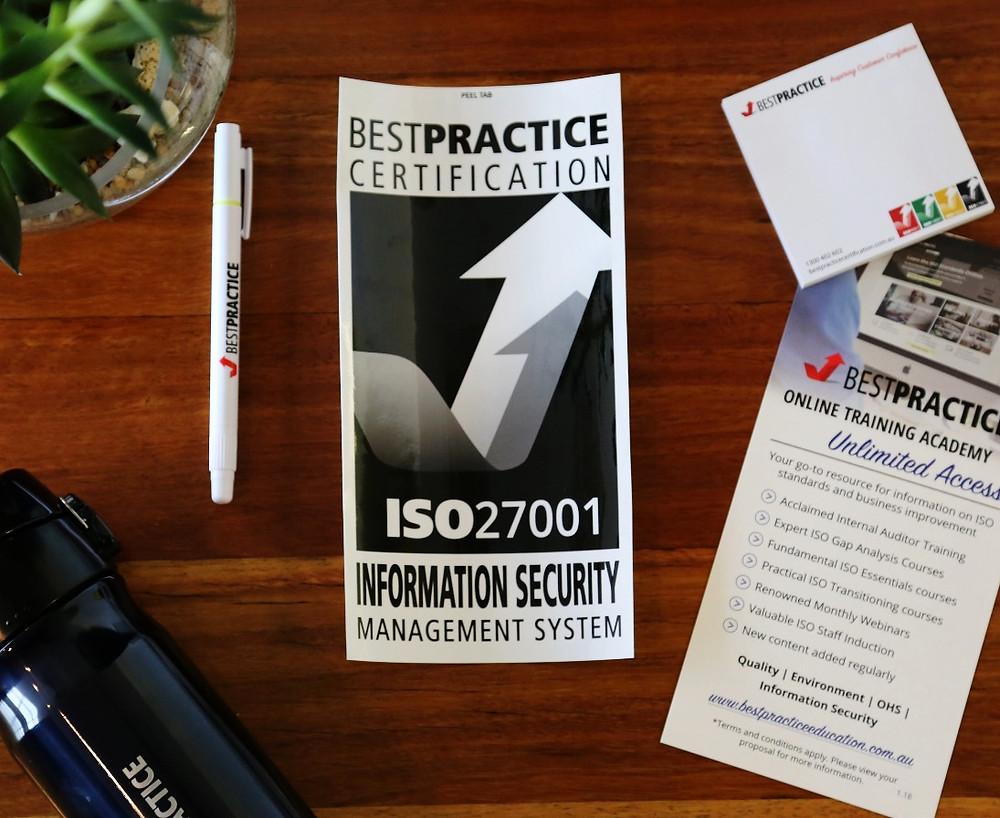 ISO27001 Certification with Best Practice Certification
