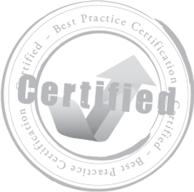 Best Practice Certification Stamp of Approval