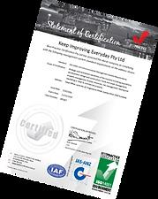 ISO 14001 Environment Certificate Best Practice